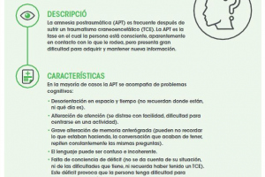 Fichas neuropsicologia: Fase de amnesia postraumática